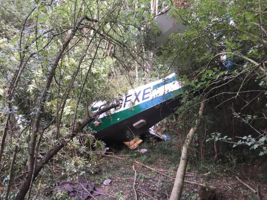 crash secteur Charleville (08)