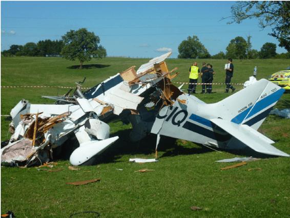 crash secteur Poix-Terron (08)